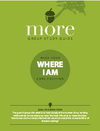 Week 4 - where I am sermon series on calling